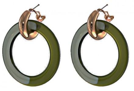 Oorbel green